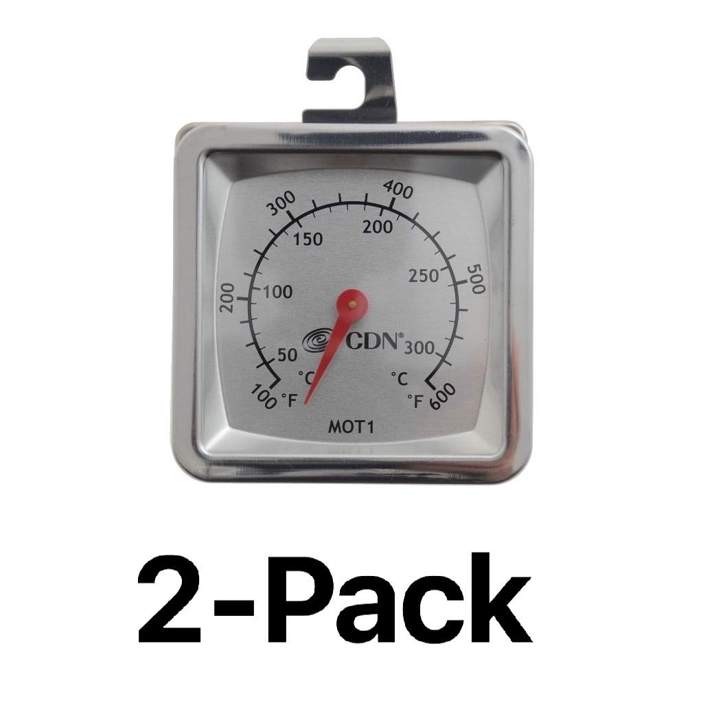 CDN MOT1 Multi-Mount Oven Thermometer - Set of 2