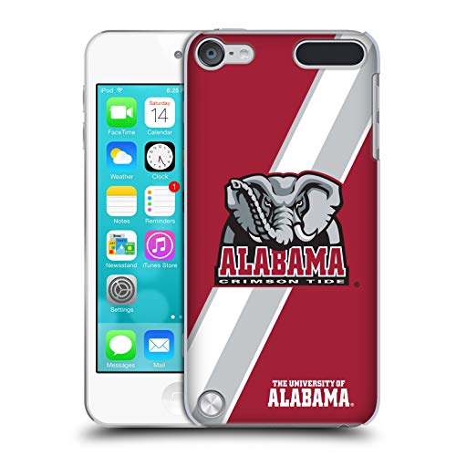 Official University of Alabama UA Stripes Hard Back Case Compatible for iPod Touch 5G 5th Gen (Alabama Ipod Touch Case)