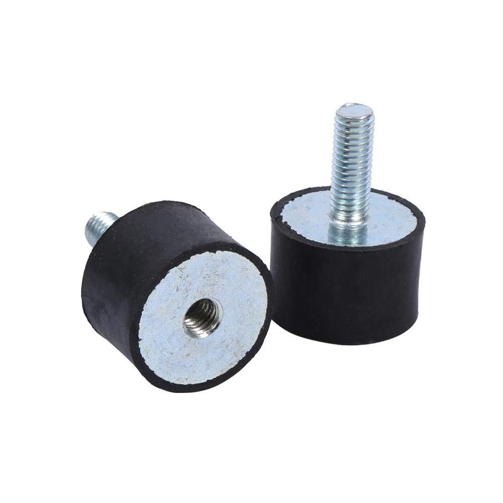 Supporti in Gomma 4x M8 M6 Ammortizzatore Bobine Anti Vibrazioni Silentblock M8 // 0.31Inch 8mm
