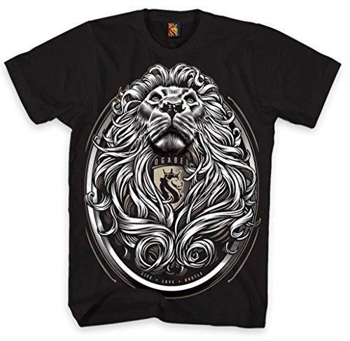 OGABEL Men's Cecil SS T Shirt Black