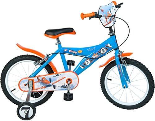 Disney Planes 16 pulgadas – Bicicleta infantil con ruedas azul ...
