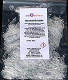 well2wellness Cristales de mentol intensa en la 25 g Bolsa - de 100% aceite puro de menta