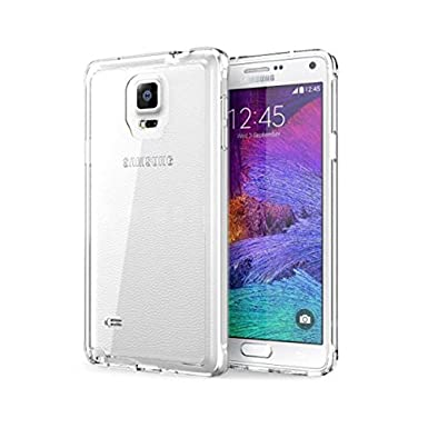 timeless design 5fbab c9554 Samsung Galaxy Note 4 Silicone Gel Case Case - Transparent Clear Soft Gel  TPU Silicone Case Cover for Your Samsung Galaxy Note 4 - TPU Cover Samsung  ...