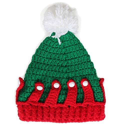 Ypser Baby Thanksgiving Christmas Beanie Turkey Knitted Cap Elk Hat Photo Prop