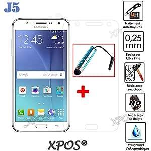 J5glasssty Accessory Master-Protector de pantalla de vidrio templado para Samsung Galaxy Martin