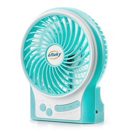 USB Fan Portable Mini Fan (Blue) - 1