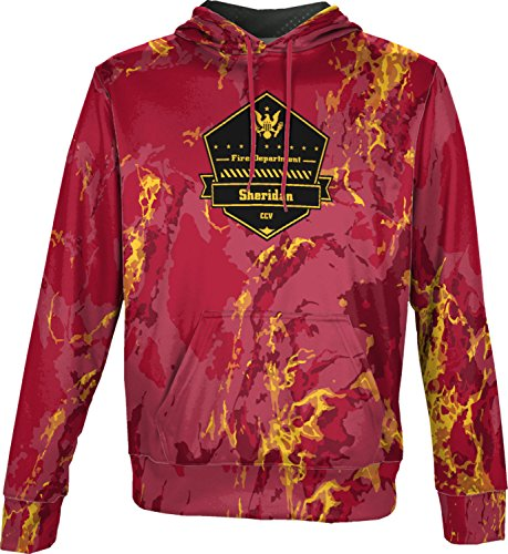 Price comparison product image ProSphere Boys' Cane Creek Volunteer Fire Department Marble Pullover Hoodie