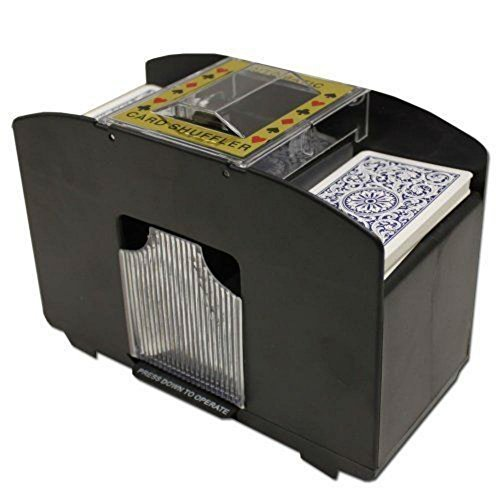 4 Deck Playing Card Shuffler Automatic Poker BlackJack Games Vegas Professional by Generic