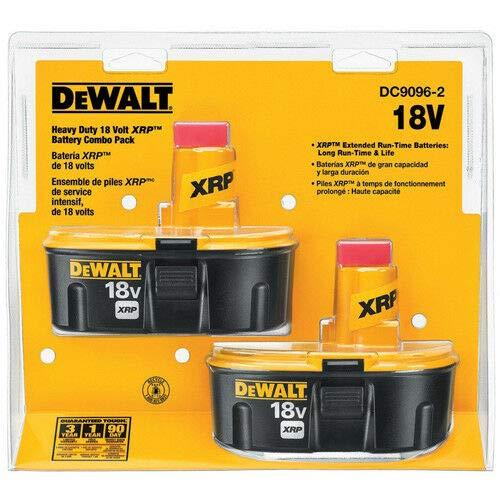 DEWALT DC9096-2 18-Volt XRP Batteries, 2 pk by DEWALT