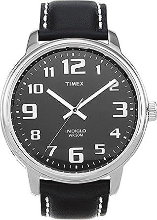 Timex herren armbanduhr easy reader analog quarz