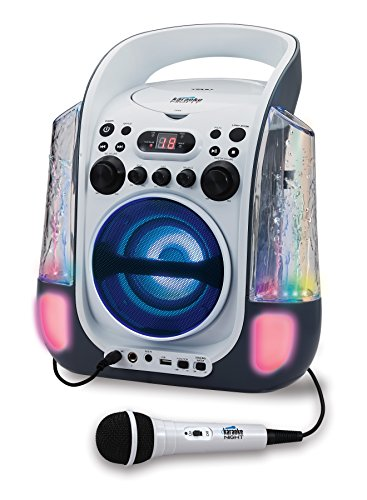 JENKN275 - Karaoke Night KN275 CD+G Karaoke Machine with Dancing Water LED Light Show by Karaoke Night (Image #1)