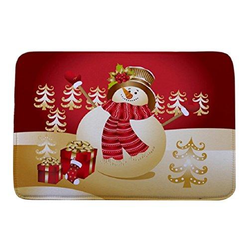 Wildcats Printed Towel - Lookatool Christmas HD Printed Non-Slip Bath Mat Absorbent Home Decor (FFFF)