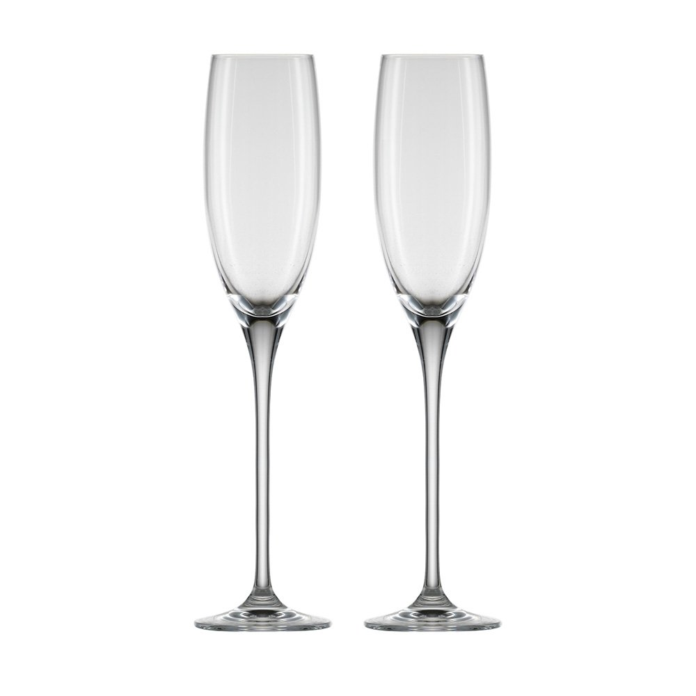 Eisch Superior All Purpose Red Wine Sensis Plus Lead-Free Crystal Wine Glass (Set of 2), 21 oz, Clear 25005020