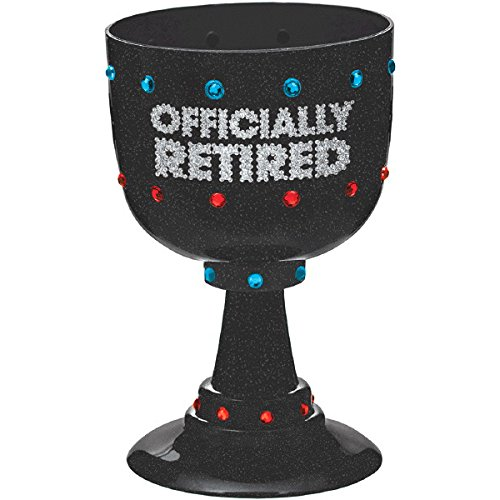 Amscan Officially Retired Party Cups 4 Ct 210398 26 oz. TradeMart Inc