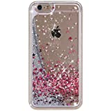 iPhone 5S Case, Little Sky (TM) iPhone 5S Liquid Case,Case for iPhone 5S ,Creative Design Flowing Liquid Floating Luxury Bling Glitter Sparkle Stars Hard Case Apple iPhone 5S & iPhone 5,A25