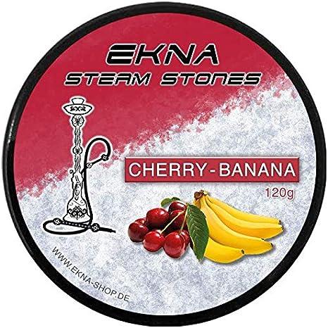 EKNA® SteamStones - Piedras granuladas para cachimba (120 g, sustituye al tabaco de pipa)