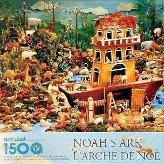 Noah's Ark L'Arche De Noe 1500 Piece Jigsaw Puzzle 29