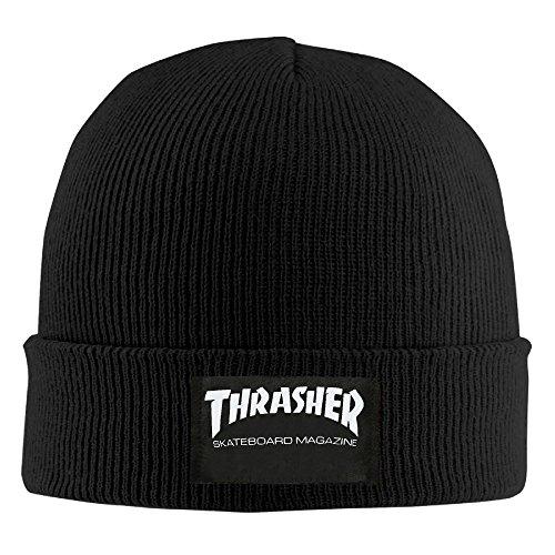 Crochet Thrasher Skateboard Magazine Beanie Hats