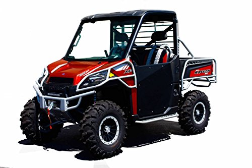 13-19 POLARIS RAN900XP: Dragonfire Racing HiBoy Doors (Black)