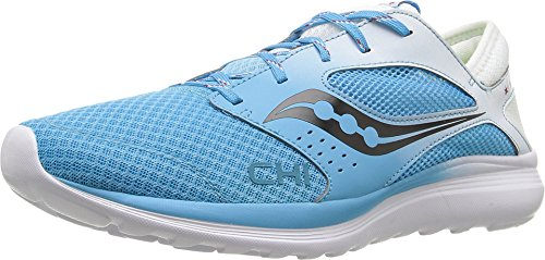 Saucony Unisex Kineta Relay Blue/White Sneaker Men's 5.5, Women's 6.5 Medium