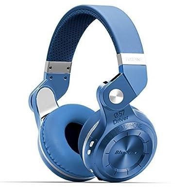 Bluedio T2 Plus turbina inalámbrico Bluetooth 4.1 estéreo Auriculares con micrófono/ranura para tarjeta Micro