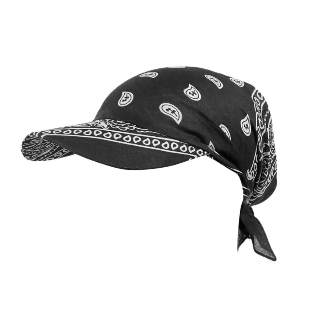 squarex Frauen Indien Muslim Retro Floral Baumwolle Handtuch Gap Krempe Turban Baseball Hat Wrap