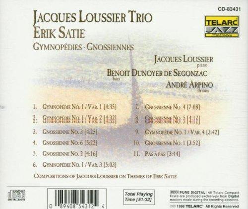 Satie: Gymnopedies Gnossiennes / Jacques Loussier Trio