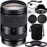 Sony 18-200mm f/3.5-6.3 OSS Lens for NEX Cameras + 6 Piece Accessory Kit