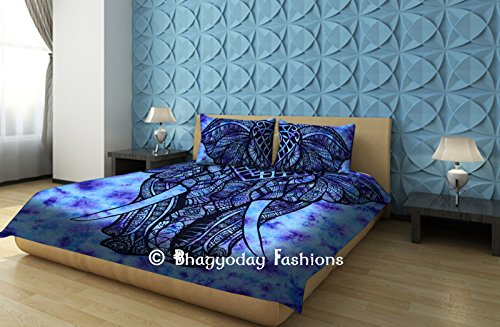 queen comforter set tie dye - 7