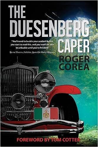 Book The Duesenberg Caper