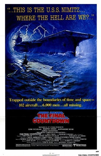 The Final Countdown POSTER Movie (27 x 40 Inches - 69cm x 102cm) (1980)