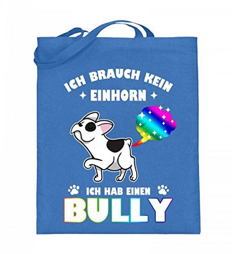 Shirtee EW9F4HV0_XT003_38cm_42cm_5739 - Bolso de tela de algodón para mujer Azul azul 38cm-42cm Azul