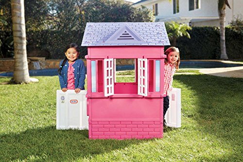 Little Tikes Princess Cape Cottage Playhouse, Pink by Little Tikes (Image #2)