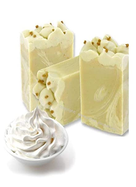 Francés esels de leche Savon Crema de la Crema; 2 unidades a 100 g;