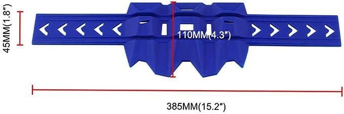 ZUIMEI Tuyau d/échappement pour KTM EXC SX SXF 125 200 250 bleu