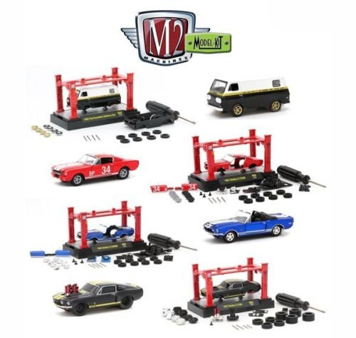 New 1:64 Model Kits & AUTO-LIFT WAVE 9 ASSORTMENT Diecast Mo