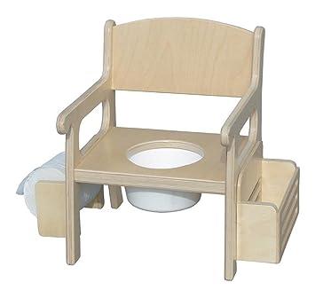 Amazon.com: Silla Orinal tradicionales (Unfinished): Baby