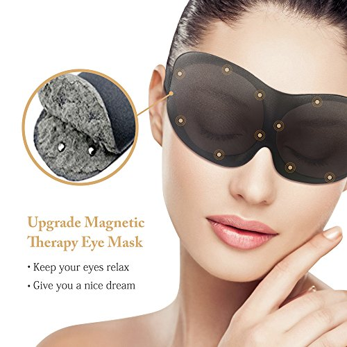 Upgraded Magnetic Sleep Mask for Women Men & Kids, Ehomi Eye