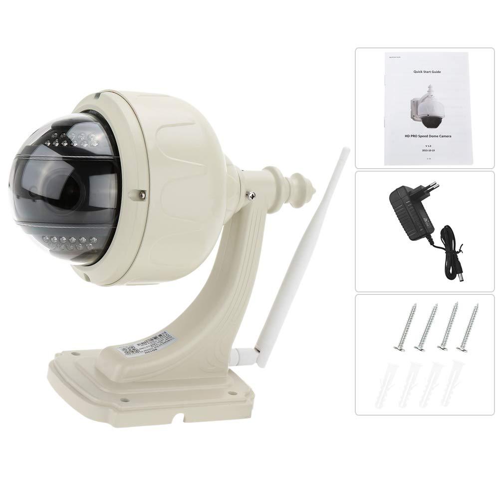 KKmoon IP Cámara Wifi Inalámbrico H.264 HD 720P 2.8-12mm Auto focus PTZ Seguridad CCTV de Vigilancia: Amazon.es: Electrónica