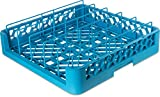Carlisle RFP14 OptiClean Food Pan/Insulated Meal Delivery Tray Rack, 4.0'', 1.75'' Height, 19.88'' Width, 19.88'' Length, Polypropylene (PP), Carlisle Blue (Pack of 3)