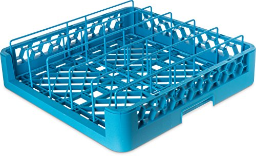 Carlisle RFP14 OptiClean Food Pan/Insulated Meal Delivery Tray Rack, 4.0'', 1.75'' Height, 19.88'' Width, 19.88'' Length, Polypropylene (PP), Carlisle Blue (Pack of 3) by Carlisle