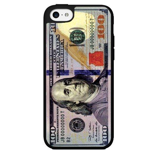 100 Dollar Bill Money Hard Snap on Phone Case (iPhone 5c)