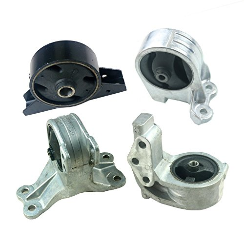 (Front Right Rear Engine Motor Transmission Mount Kit Fit for Mitsubishi Eclipse 3.0L 2000-2005 Manual 4pcs)