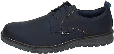 REFRESH 63956 Zapato Blucher Man Hombre Zapatos CORDÓN Marino 44