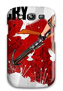 Top Quality Case Cover For Galaxy S3 Case With Nice Battlecry Appearance