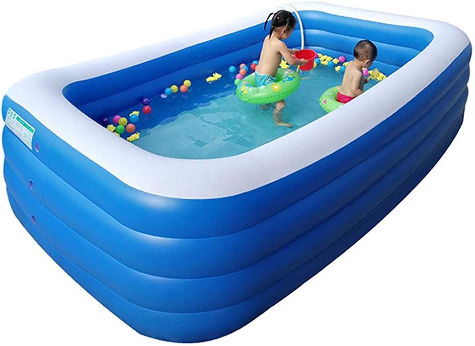 Swimming pool Piscina Inflable Gigante YUHAO(UK) para niños ...