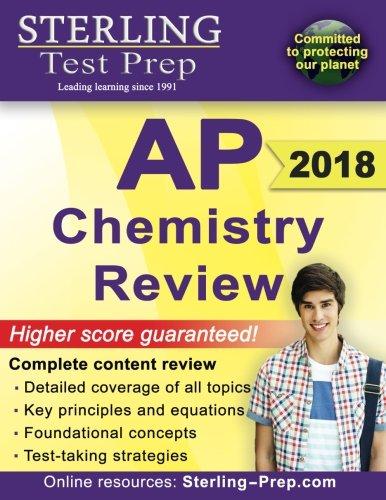Sterling Test Prep AP Chemistry Review: Complete Content Review (Ap Chemistry Test)