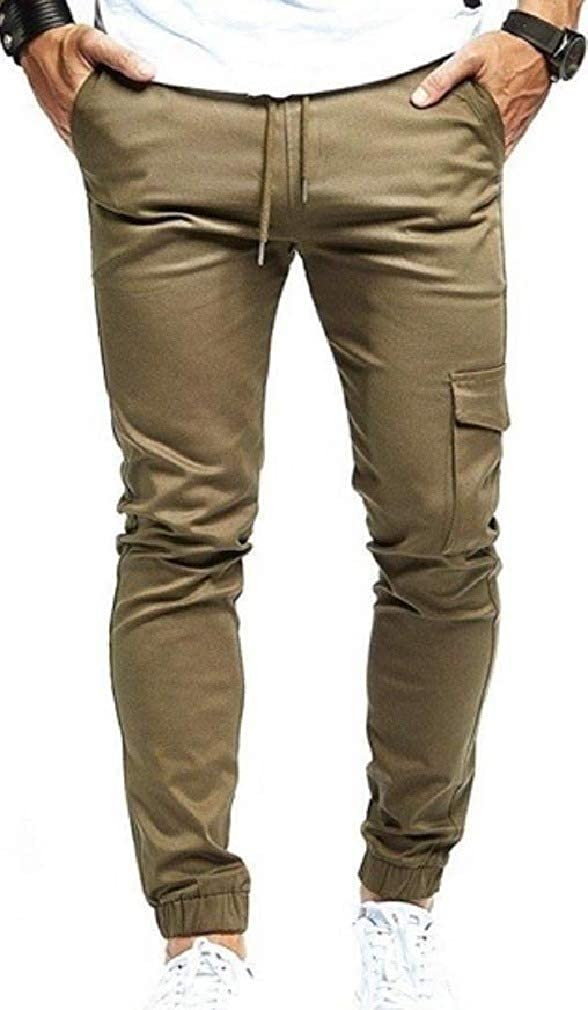 Unastar Mens Long Pants Relaxed Tailored Fit Sweatpants