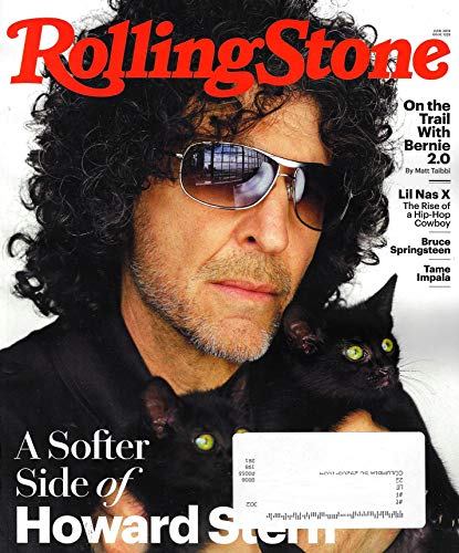 Rolling Stone Magazine June 2019, HOWARD STERN Cover, LIL NAS X, BRUCE SPRINGSTEEN, TAME IMPALA