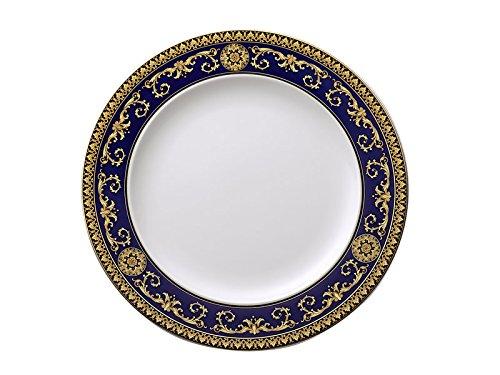 (Versace Medusa Plate 28x28x2.5 cm Blue)